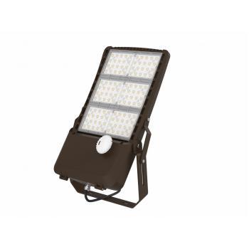 Светодиодные консольные светильники SC Shoebox AL-300-AW-40K-Z30-MW-UL 300W 4000K 37500Лм 130Lm/W AC100-277V