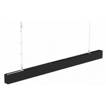 Светодиодный светильник SC-SL8050-036-AW-03NW-BL 1204x80x50мм промежуточный 36W 4000K 4700Lm черный