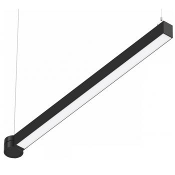 Світлодіодний світильник SC-SL8060-040-AW-D01-NW 1259x80x60мм 40W 4000K 3760Lm чорний
