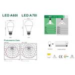 Світлодіодна лампа NVC A70I 12W 3000K E27