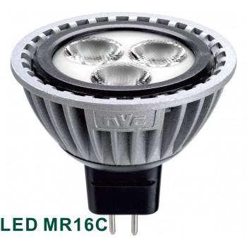 Светодиодная лампа NVC MR16C 6W 3000K 12V
