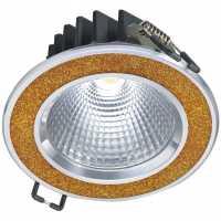 Светодиодный потолочный cветильник NVC NLED182 9W 3000K 24deg Shine Gold