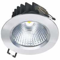 Світлодіодний світильник NVC NLED192 9W 3000K 24deg silver Satin