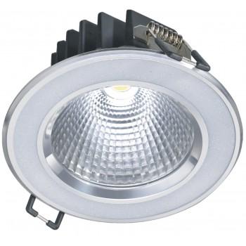 Светодиодный потолочный светильник NVC NLED181 6W 3000K 24 град. белый перламутр