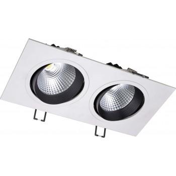 Светодиодный потолочный cветильник NVC NLED542 2x12W 4000K