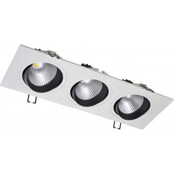 Светодиодный потолочный cветильник NVC NLED543 3x12W 4000K