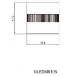 Світильник стельовий NVC NLEDM9105 20W