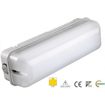 Рейковий світильник IP54 NVC BULKHEAD 7W 3000K