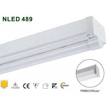 Рейковий світлодіодний світильник NLED489 23W 2700K