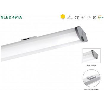 Світлодіодний світильник лінійний NLED491A06 18W 4000K