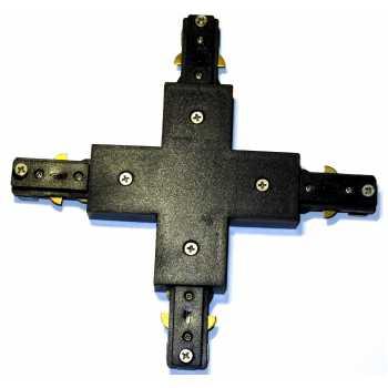 Переходник крестовина NVC T3 XJ для шины T3 черный