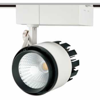 Трековый светодиодный светильник NVC TLED305A 50W 4000K 24° белый