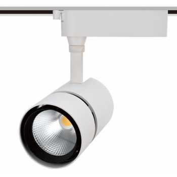 Трековые светильники TLED318A 35W 3000K 24° белый 3