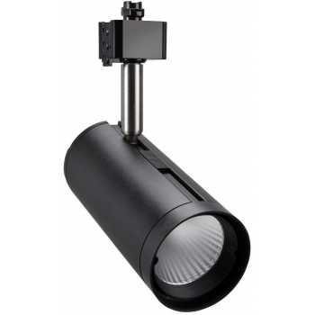 Трековые светильники TLED320C 24W 4000K 24° черный