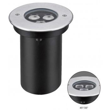 Светодиодный светильник для тротуаров NELED4203 3000K 220V 45° IP67